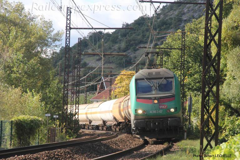 BB 36347 SNCF à Brison (F-74)