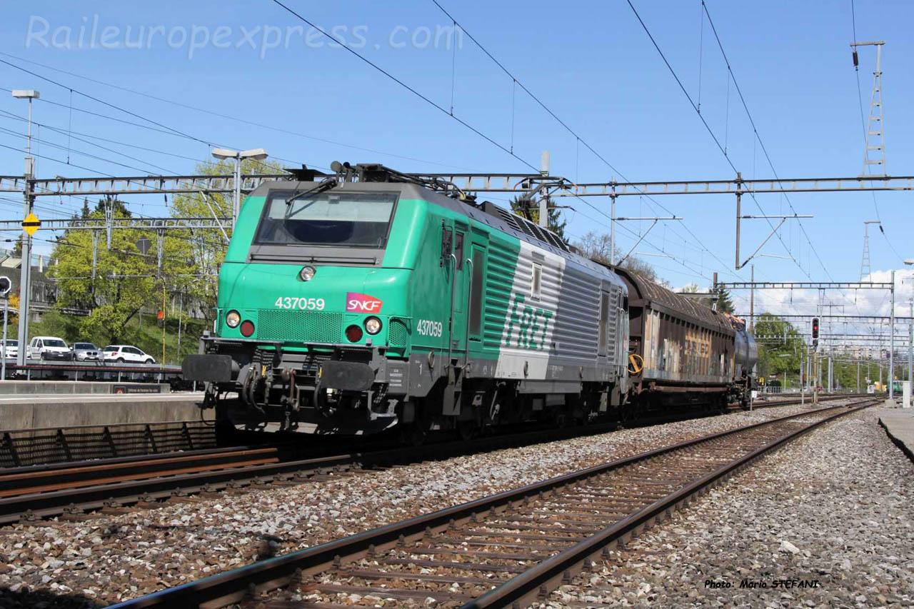 BB 37059 SNCF à Morges (CH)