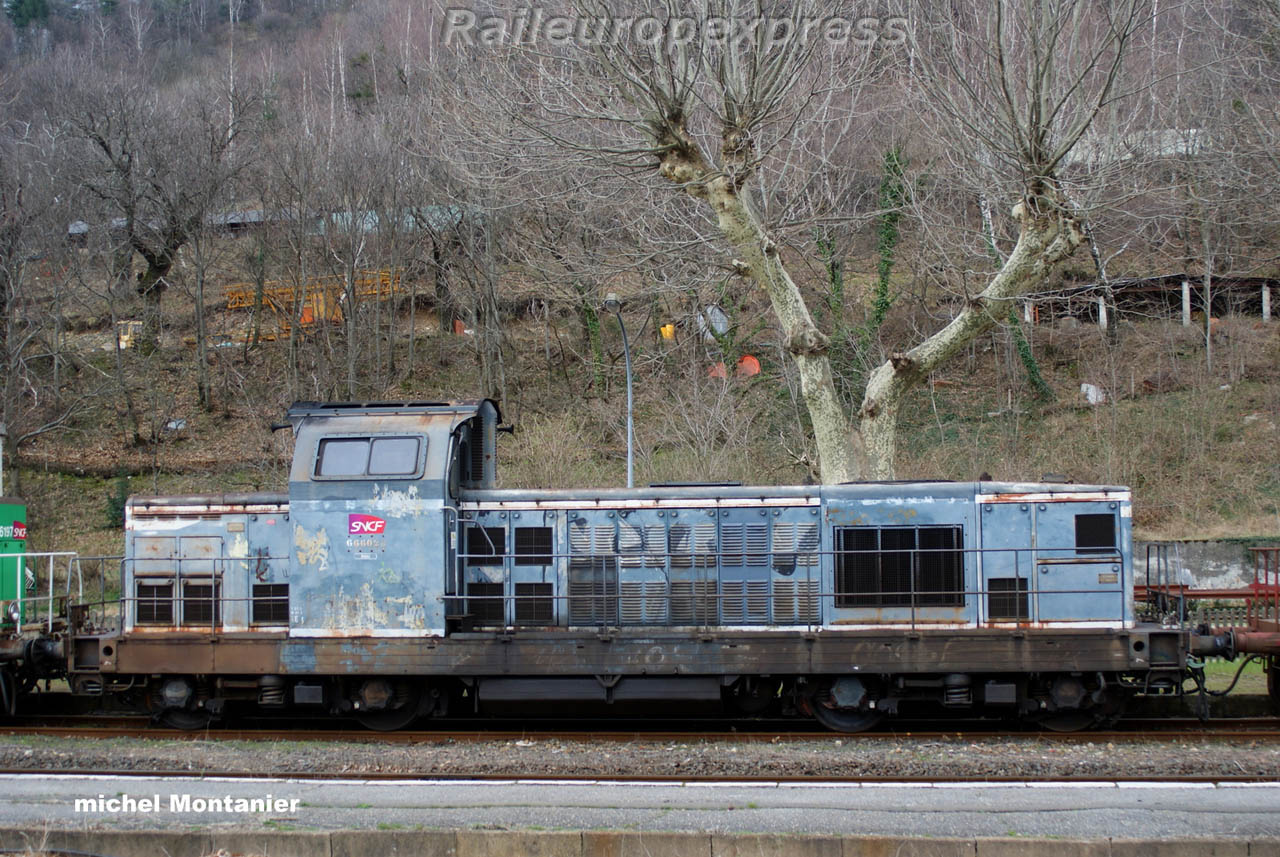 BB 66028 SNCF à Villefort (F 48)