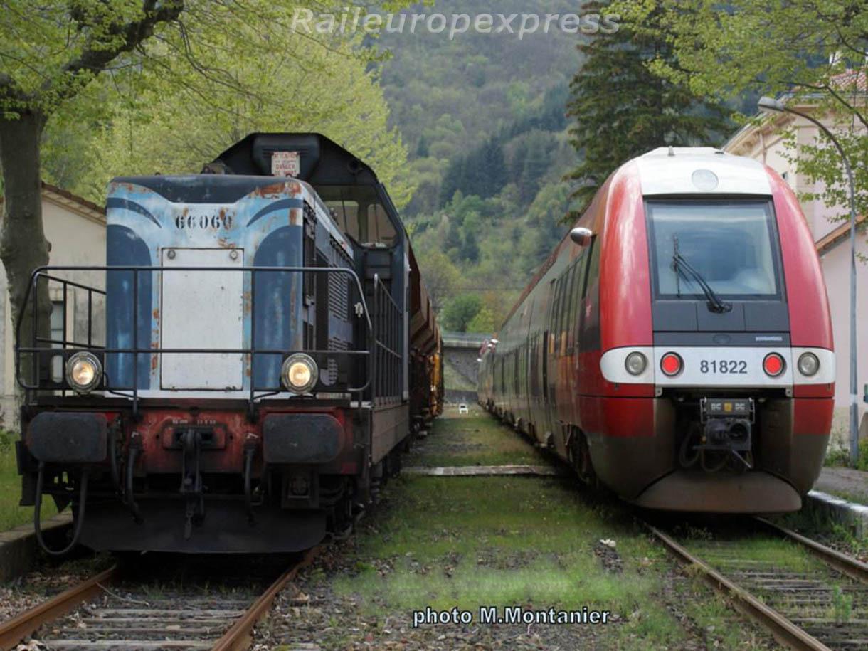 BB 66060 et X 81822 à Villefort