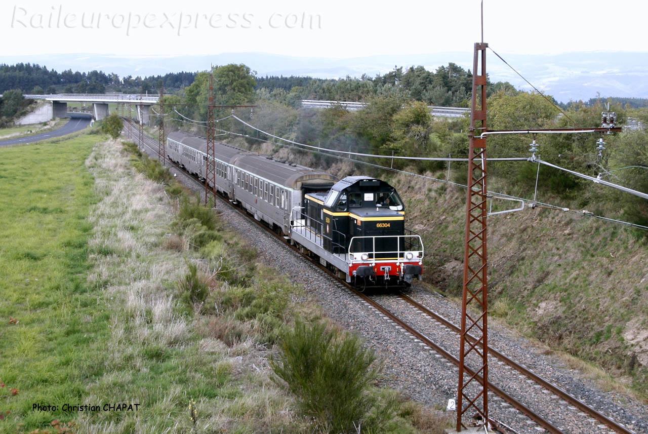 BB 66304 vers Loubaresse (F-15)