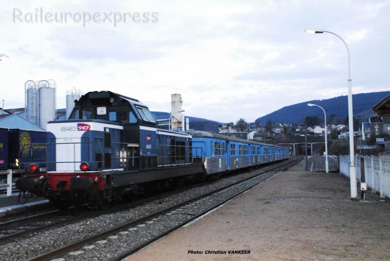 BB 66463 SNCF