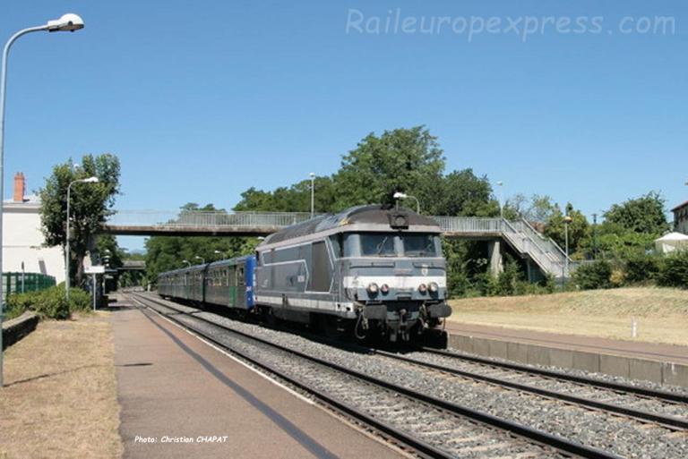 BB 67300 SNCF Le Cendre (F-63)