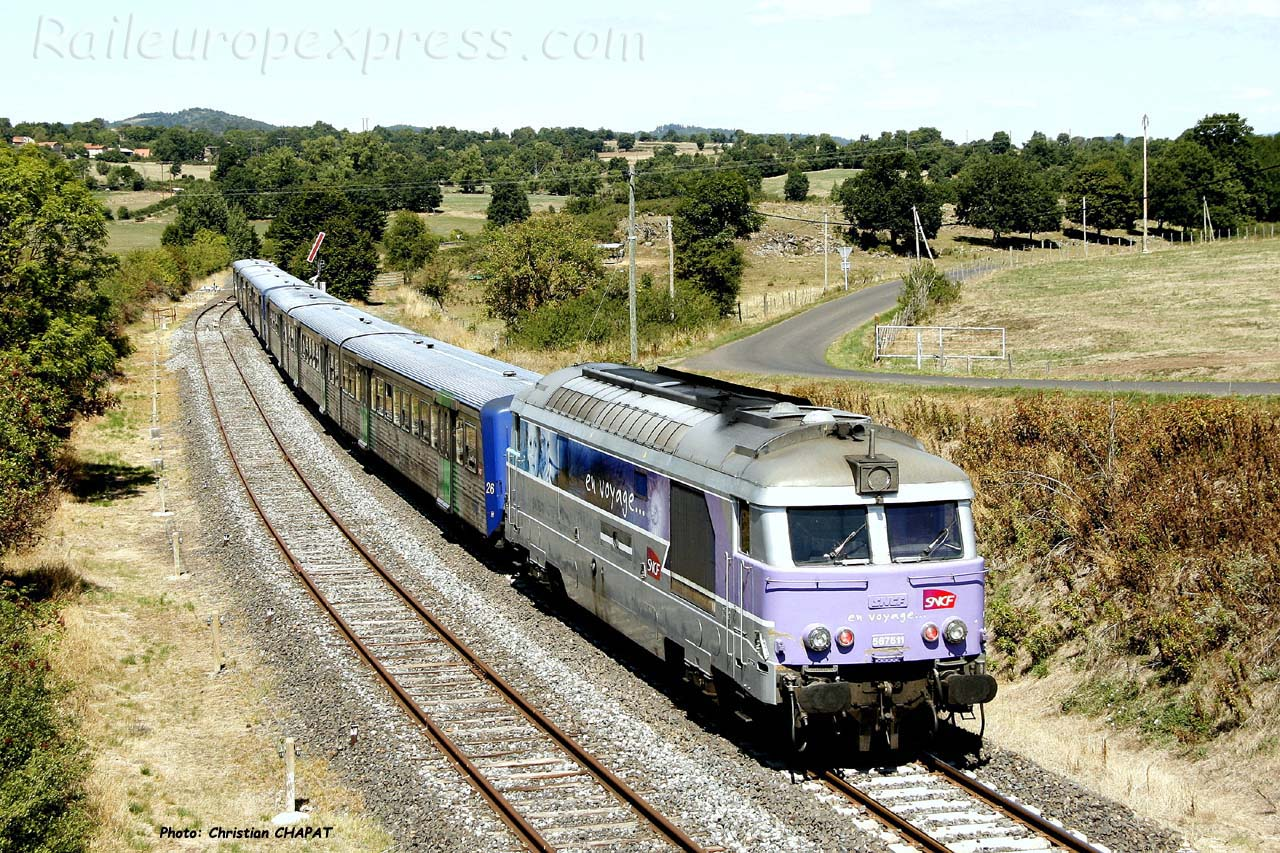 BB 67611 à Saint Georges d'Aurac (F-43)