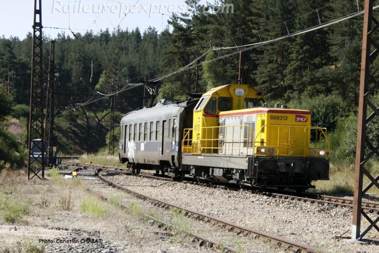 BB 69312 SNCF à Saint Sauveur de Peyre (F-48)