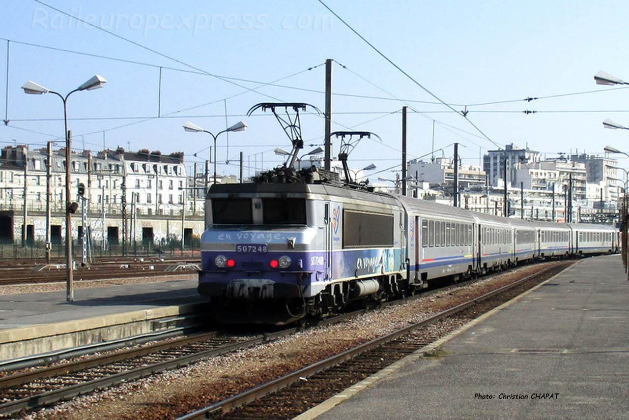 BB 7248 SNCF à Paris-Bercy (F-75)