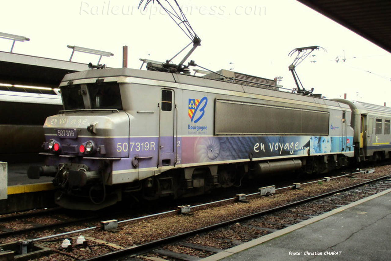 BB 7319 SNCF à Paris-Bercy (F-75)