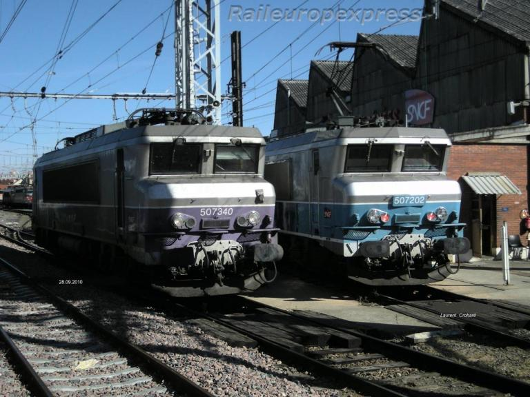 BB 7340 et BB 7202 à Toulouse