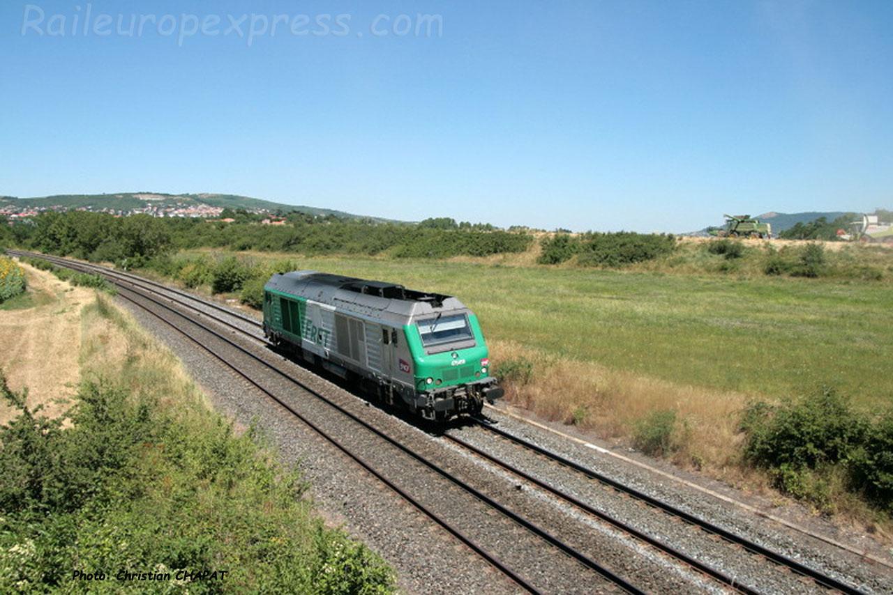 BB 75000 SNCF près du Cendre (F-63)