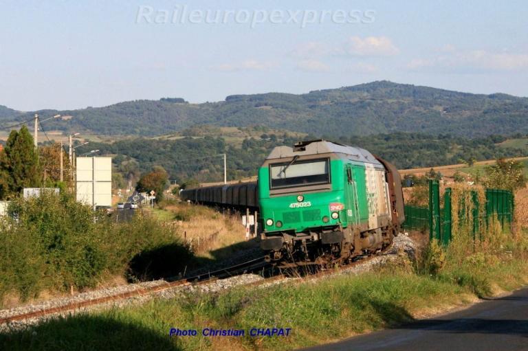 BB 75023 Retour à vide d'un train