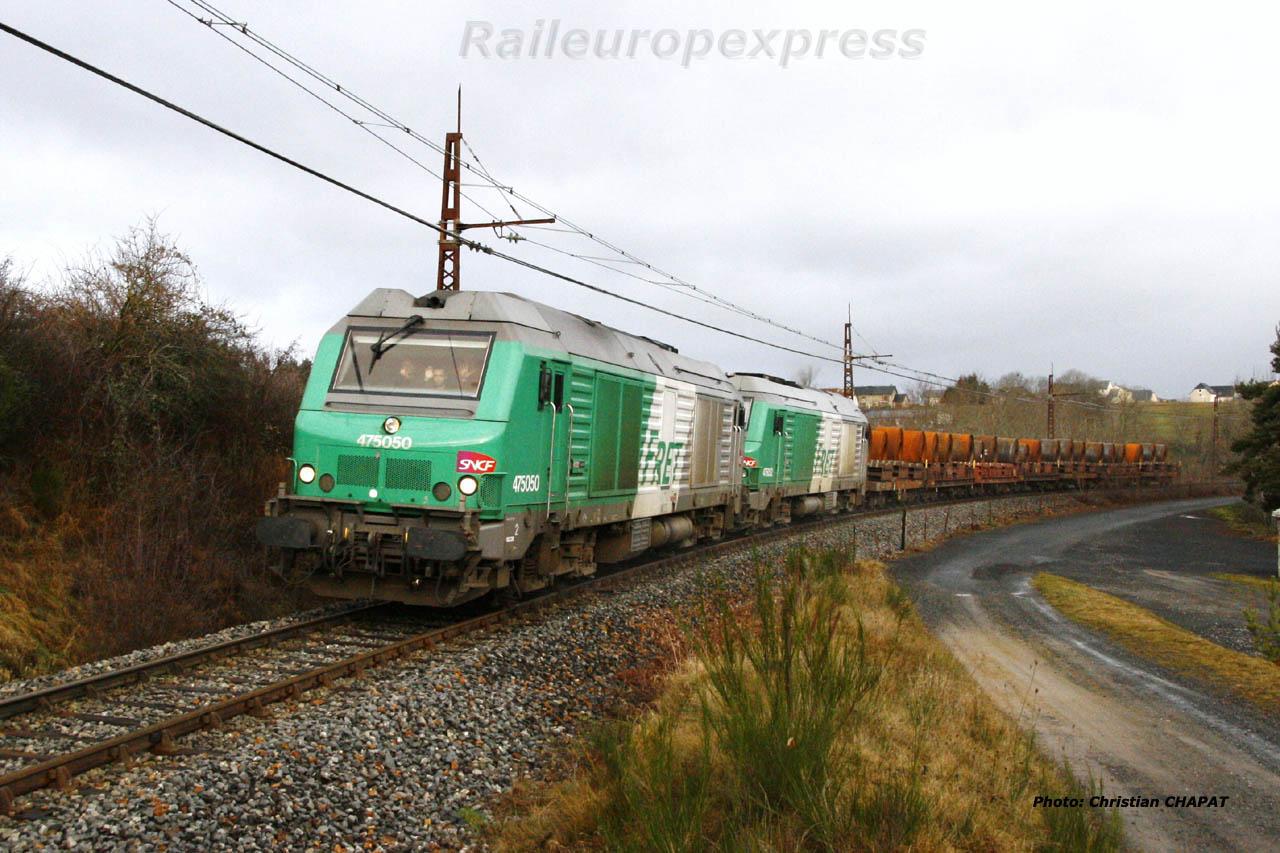 BB 75050 à Loubaresse (F 15)