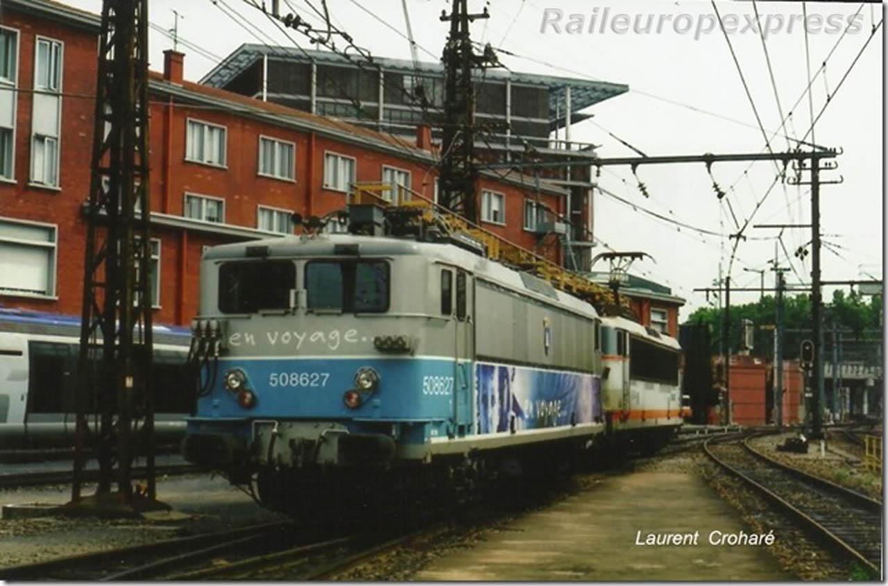 BB 8627 à Toulouse Matabiau (F 31)