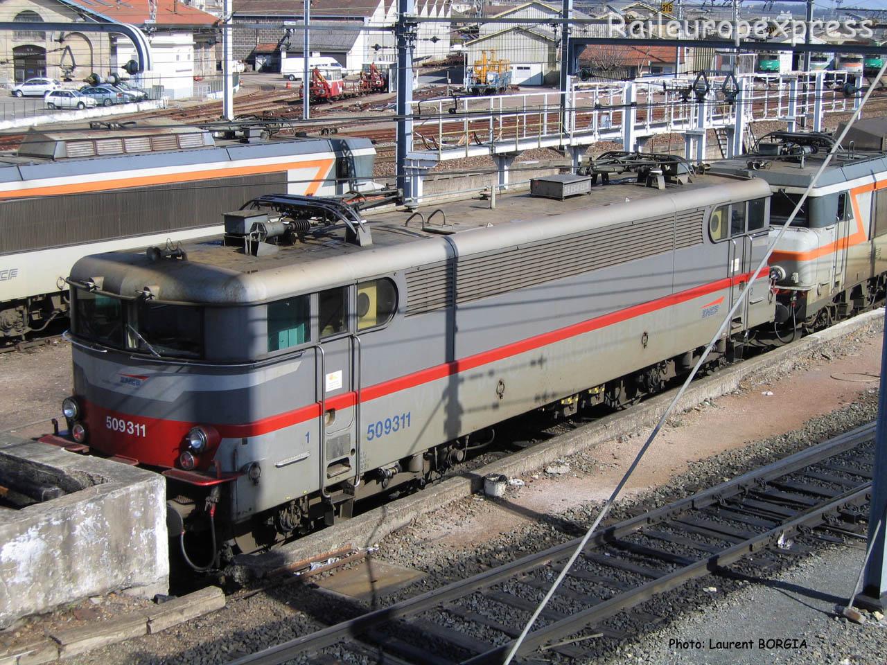 BB 9311 SNCF à Bordeaux (F-33)