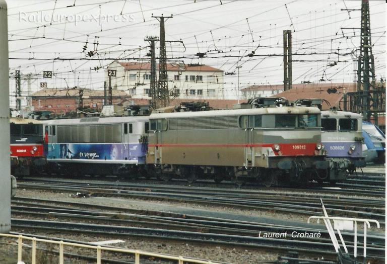 BB 9312 SNCF à Toulouse (F-31)