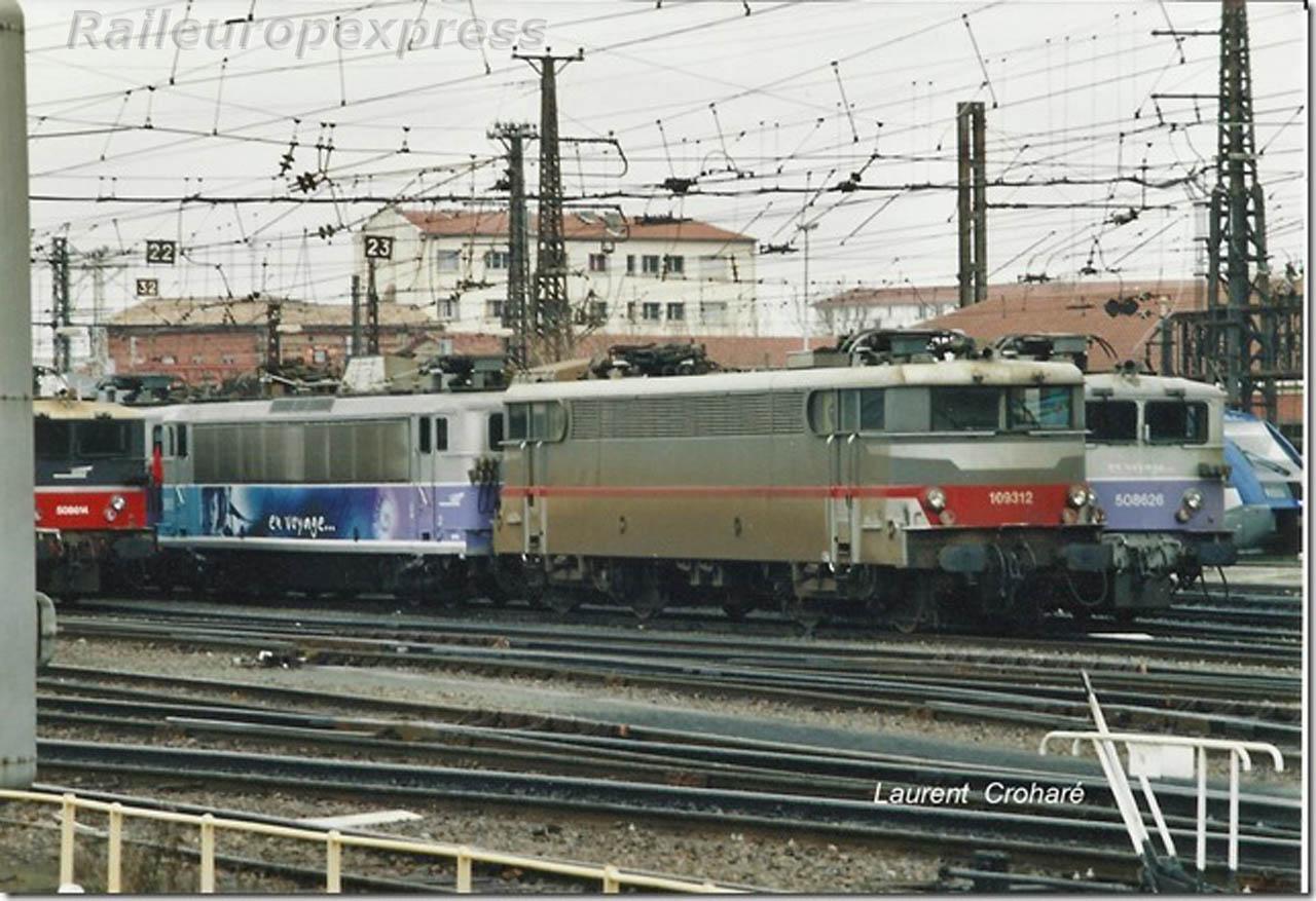 BB 9312 SNCF à Toulouse Matabiau (F 31)