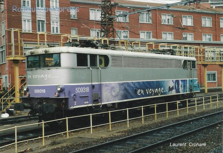 BB 9318 SNCF à Toulouse (F-31)