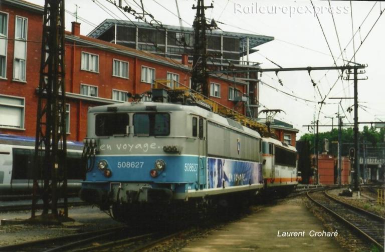 BB 9627 SNCF à Toulouse (F-31)