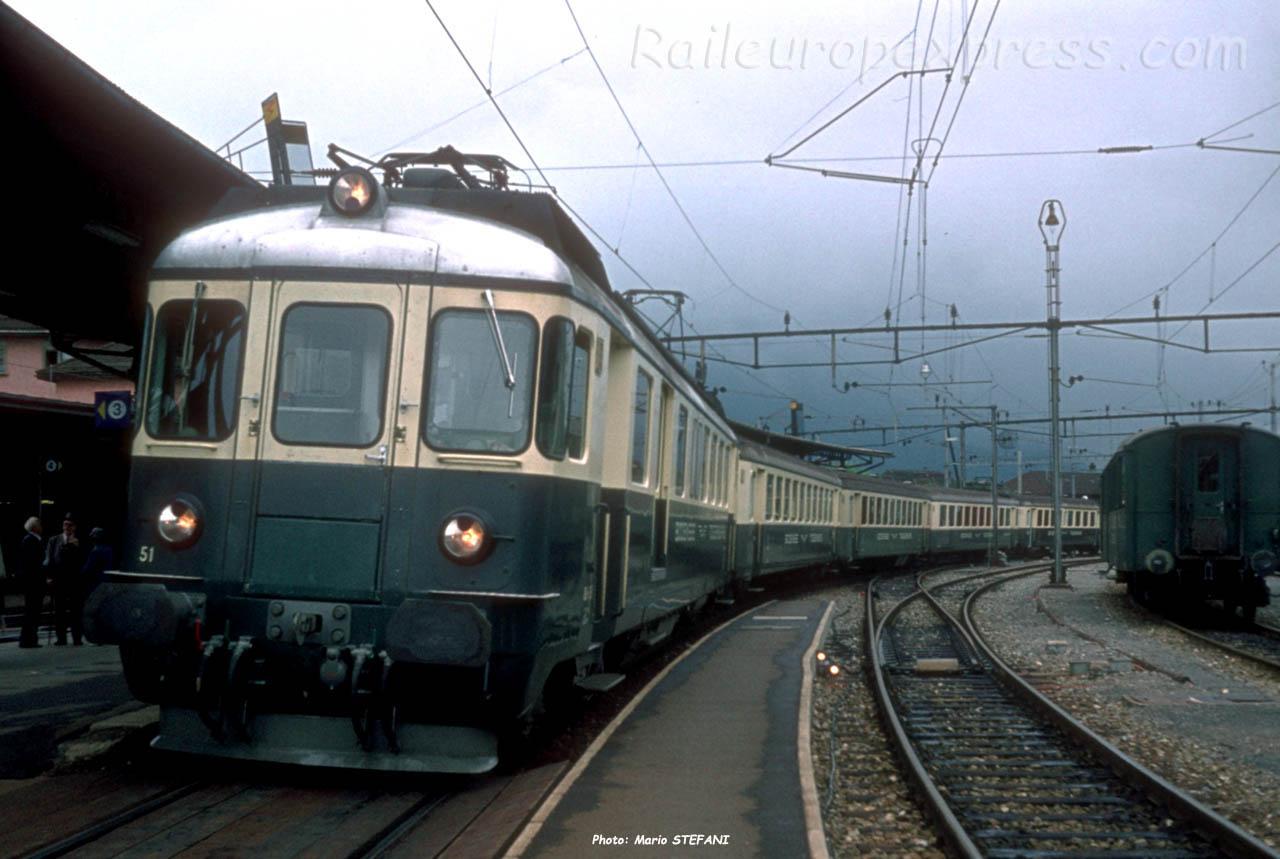 BDe 44 51 BT à Arth-Goldau (CH)