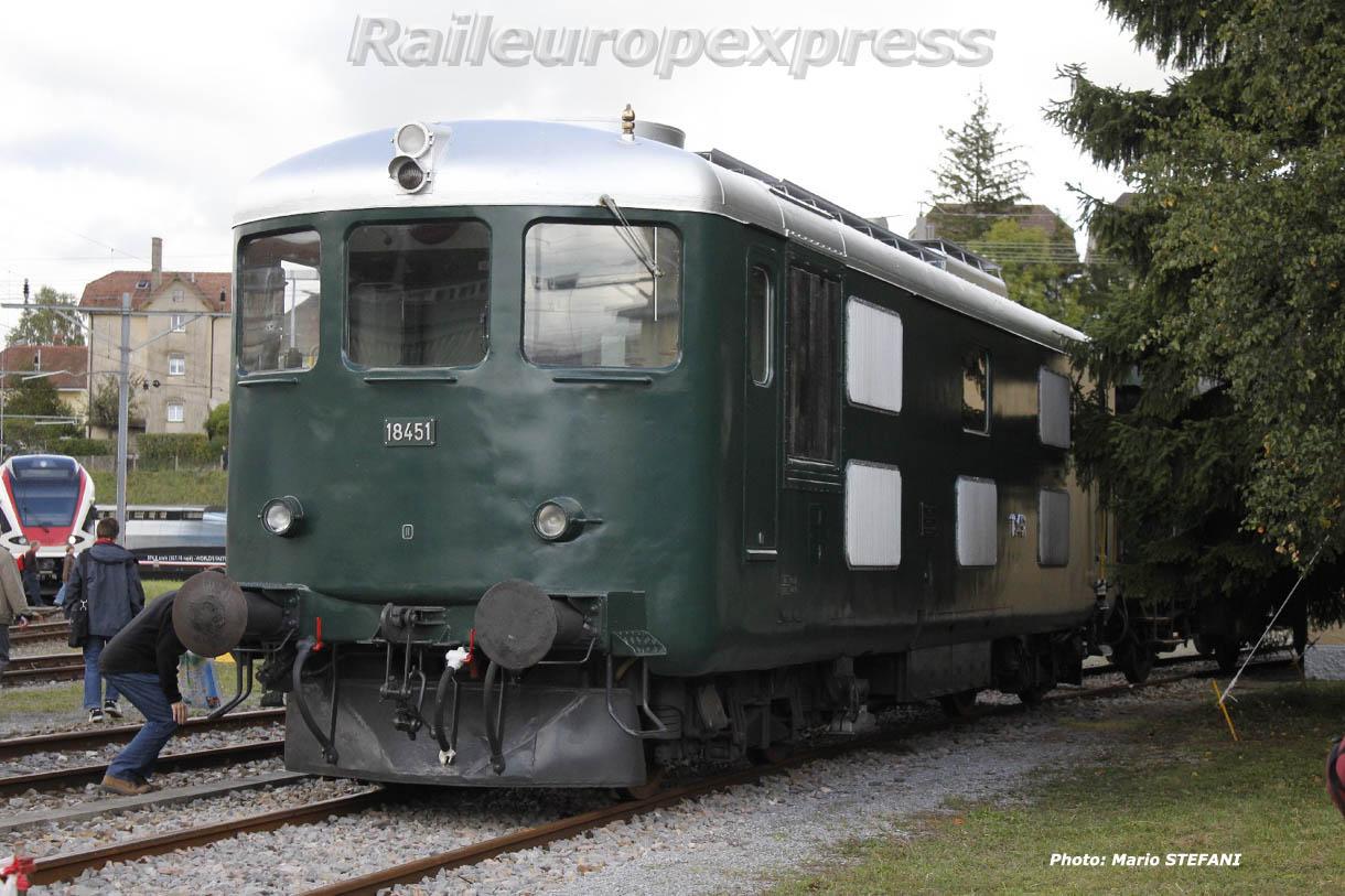 Bm 4/4 II 18451 CFF à Bienne