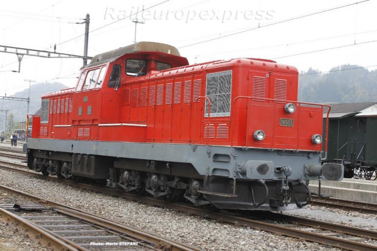 Bm 6/6 18503 CFF à Bauma