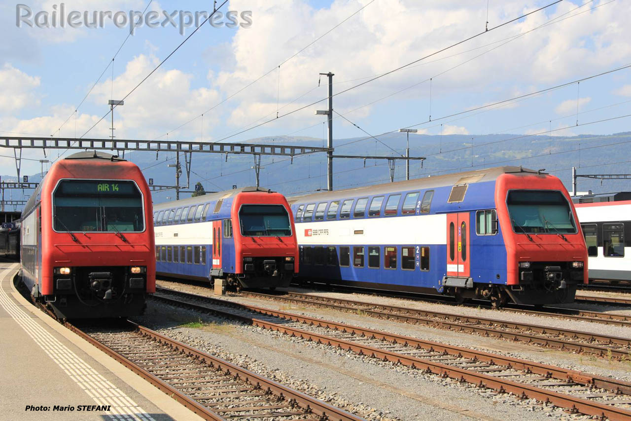 Bt S Bahn CFF à Yverdon (CH)