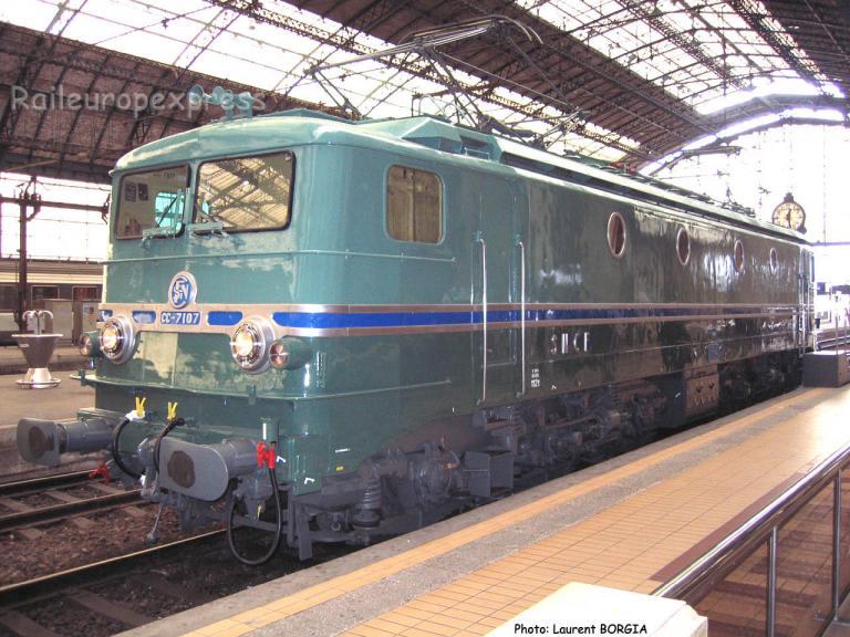 CC 7107 SNCF à Bordeaux (F-33)