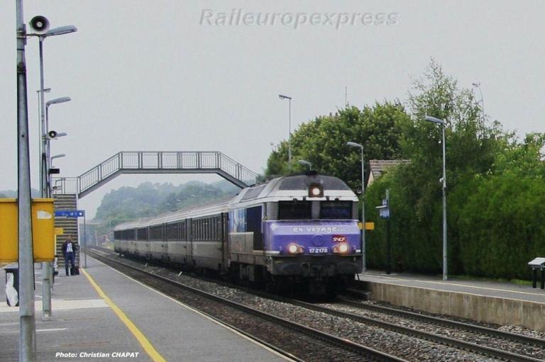 CC 72178 SNCF à Verneuil L'Etang (F 77)