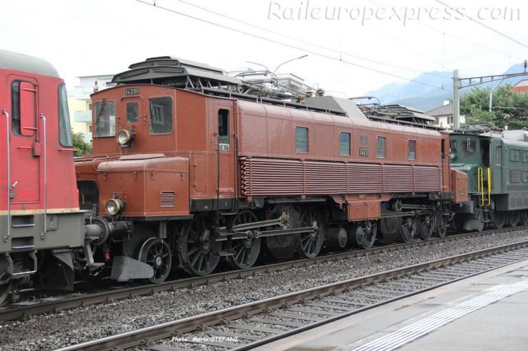 Ce 6/8 I 14201 CFF à Flüelen (CH)