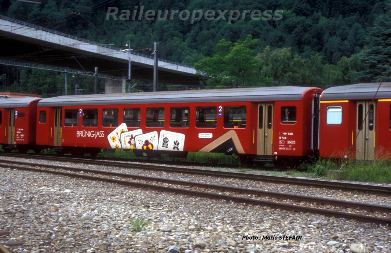 CFF B 736 BRUNIG JASS +á Interlaken