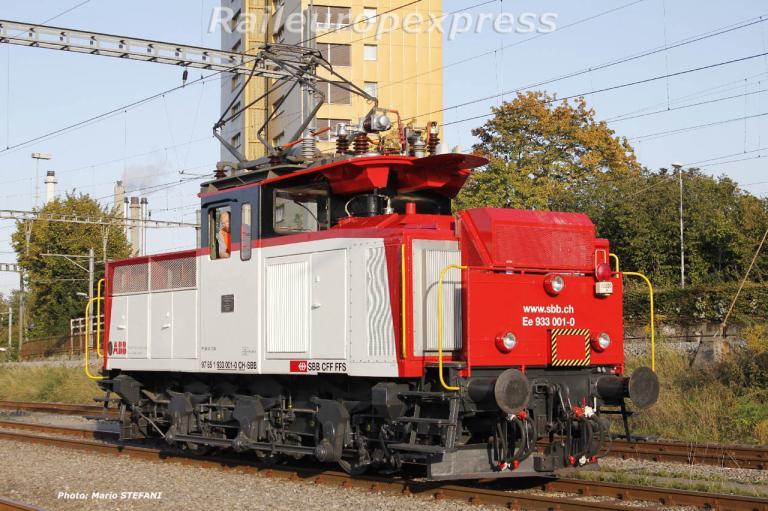 CFF Ee 933 001-0 Bern Ausserholligen