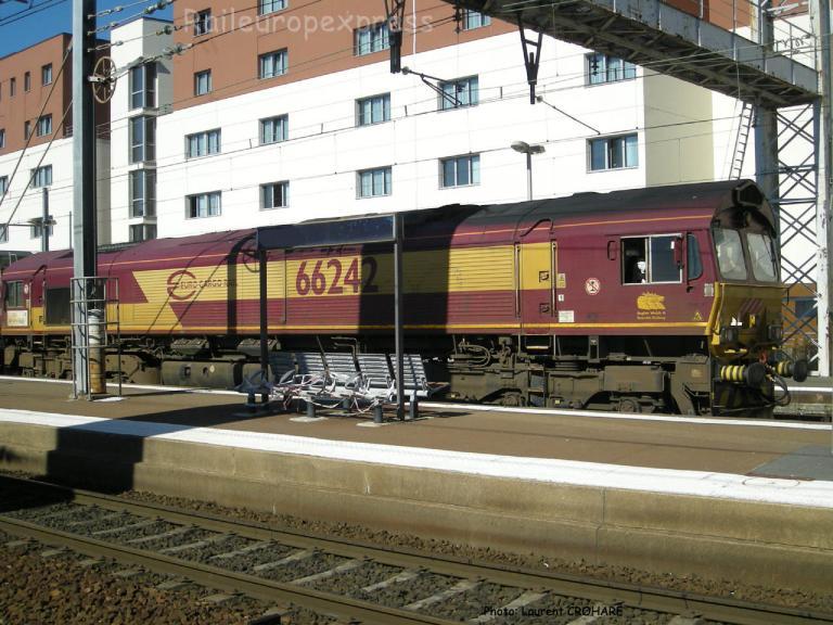 Class 66 242 ECR