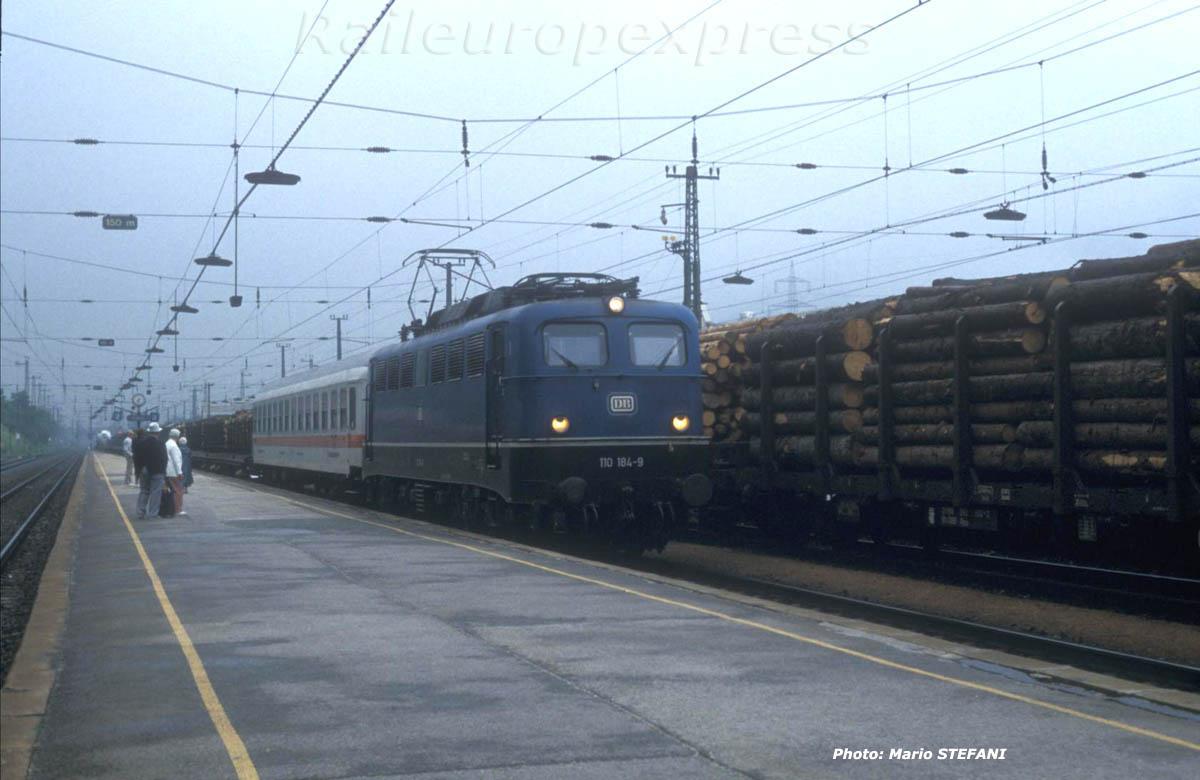 DB 110 184-9 Marchandise Jenbach