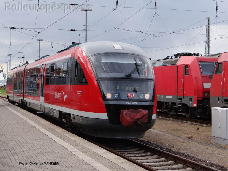 Desiro 642 DB en gare de Wismar (D)