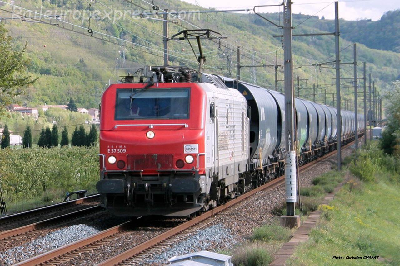 E 37509 Europorte à Laveyron (F-26)