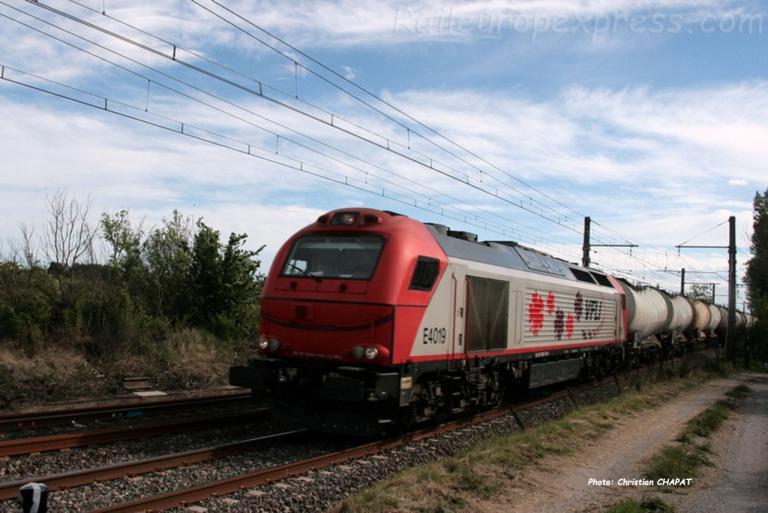 E 4019 VFLI près de Montpellier (F-34)