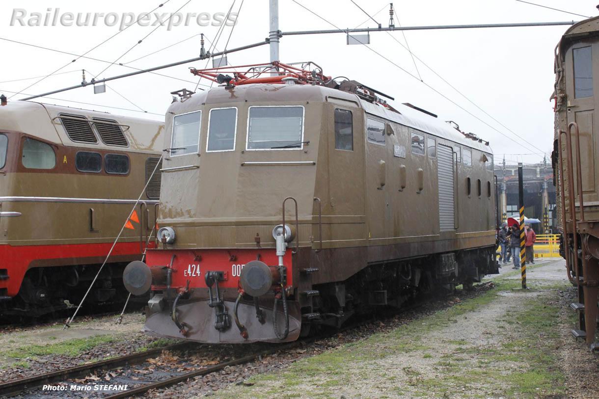 E 424 005 FS à Milan