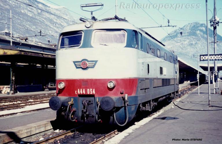 E 444 054 FS à Domodossola (I)