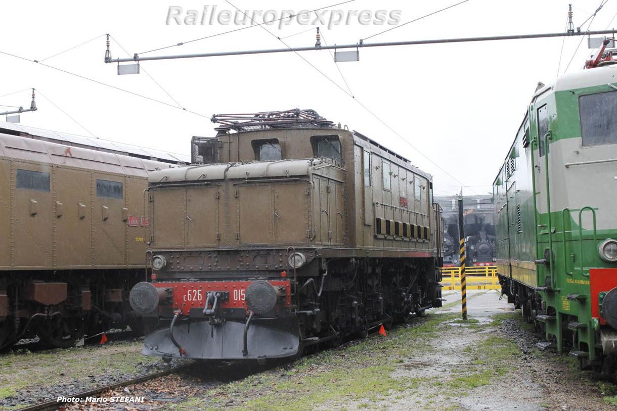 E 626 015 FS à Milan