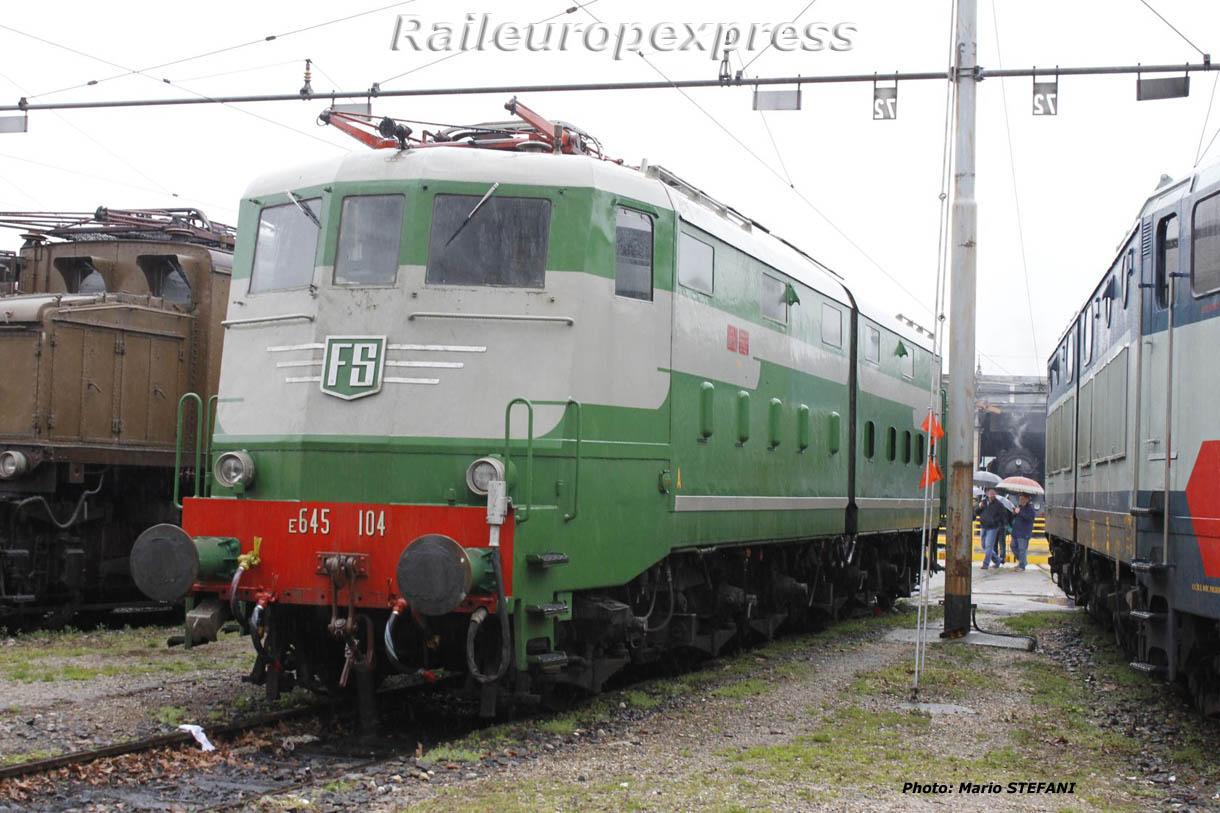 E 645 104 FS à Milan