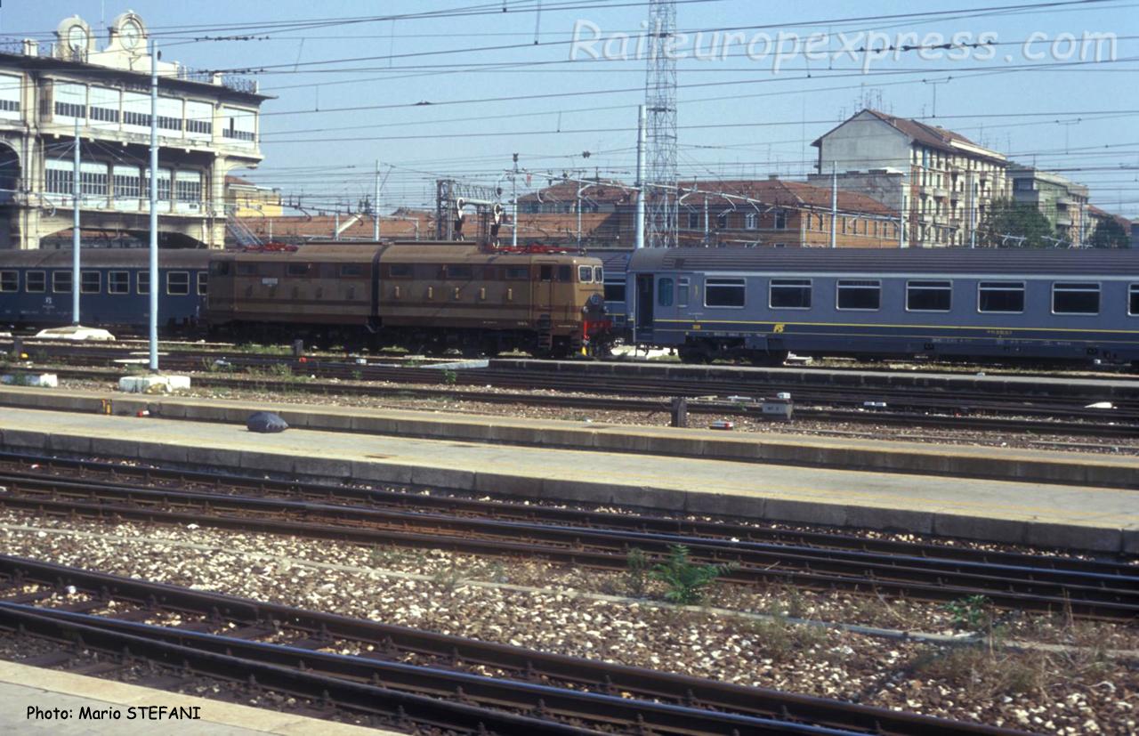 E 646 FS à Milano Centrale (I)