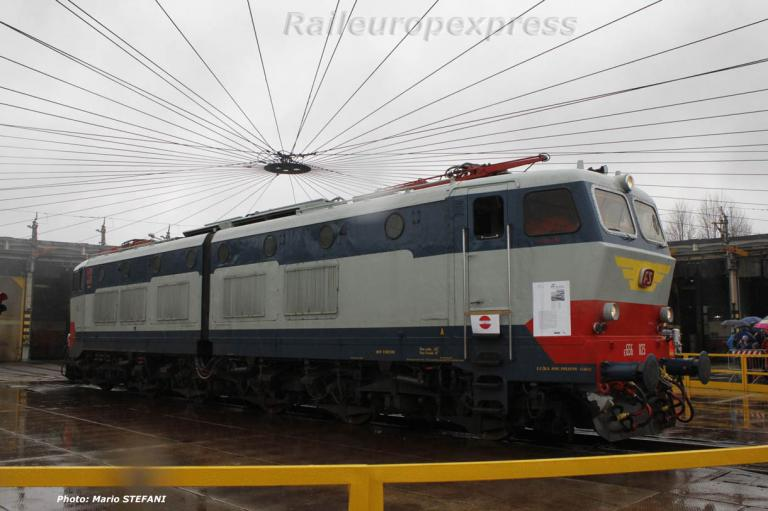E 656 023 FS à Milan