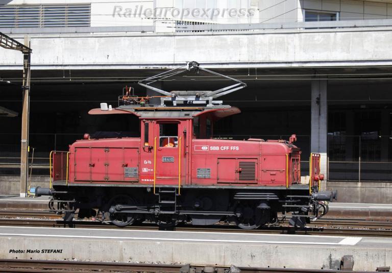 Ee 3/3 16410 CFF à Lausanne (CH)