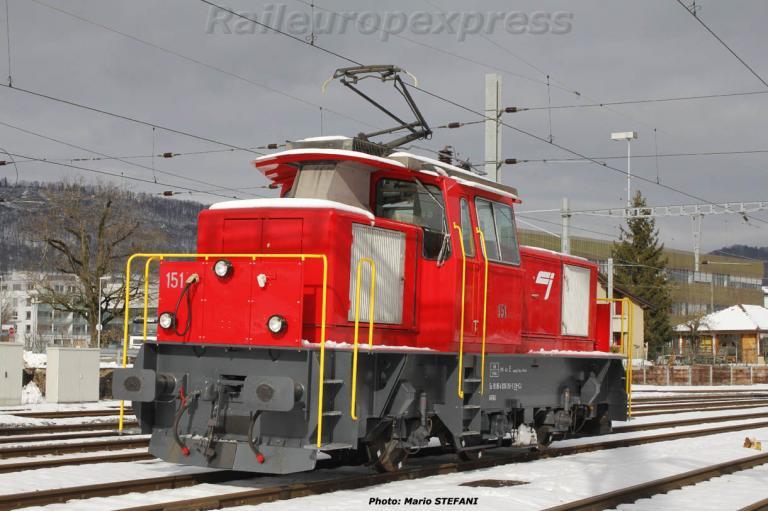 Ee 936 151-0 CJ à Delémont