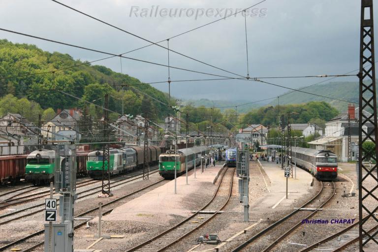 En gare de Neussargues