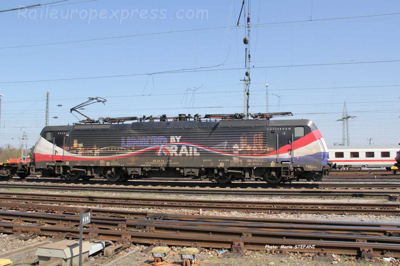 ES 64 F4-213 ERS à Basel (CH)F