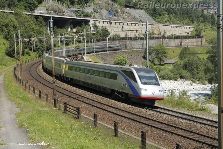 ETR 470 FS à Wassen (CH)