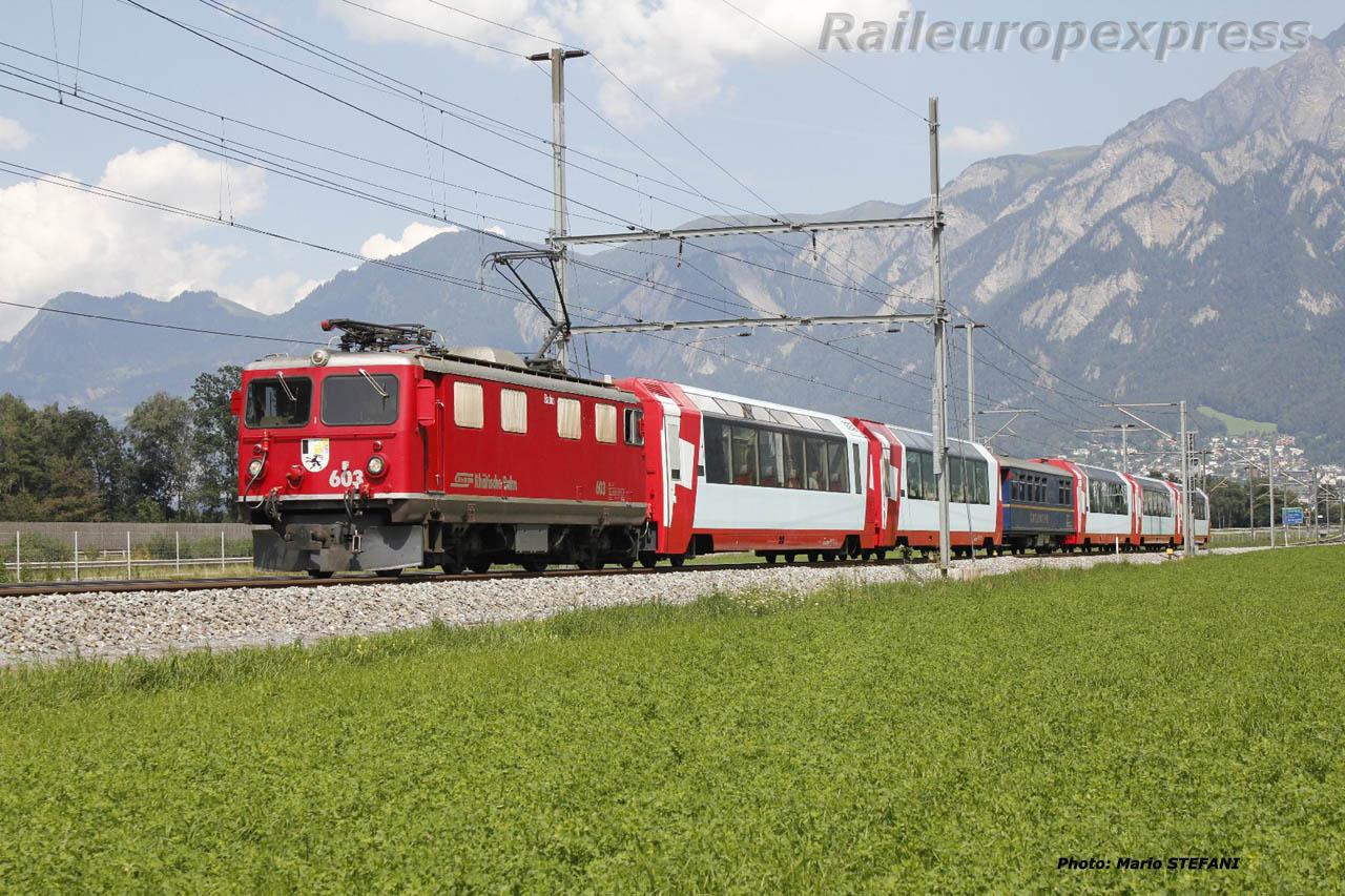 Ge 4/4 I 603 RhB à Felsberg  (CH)