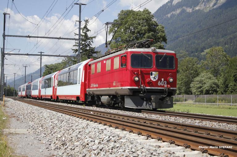 Ge 4/4 I 603 RhB à Felsberg