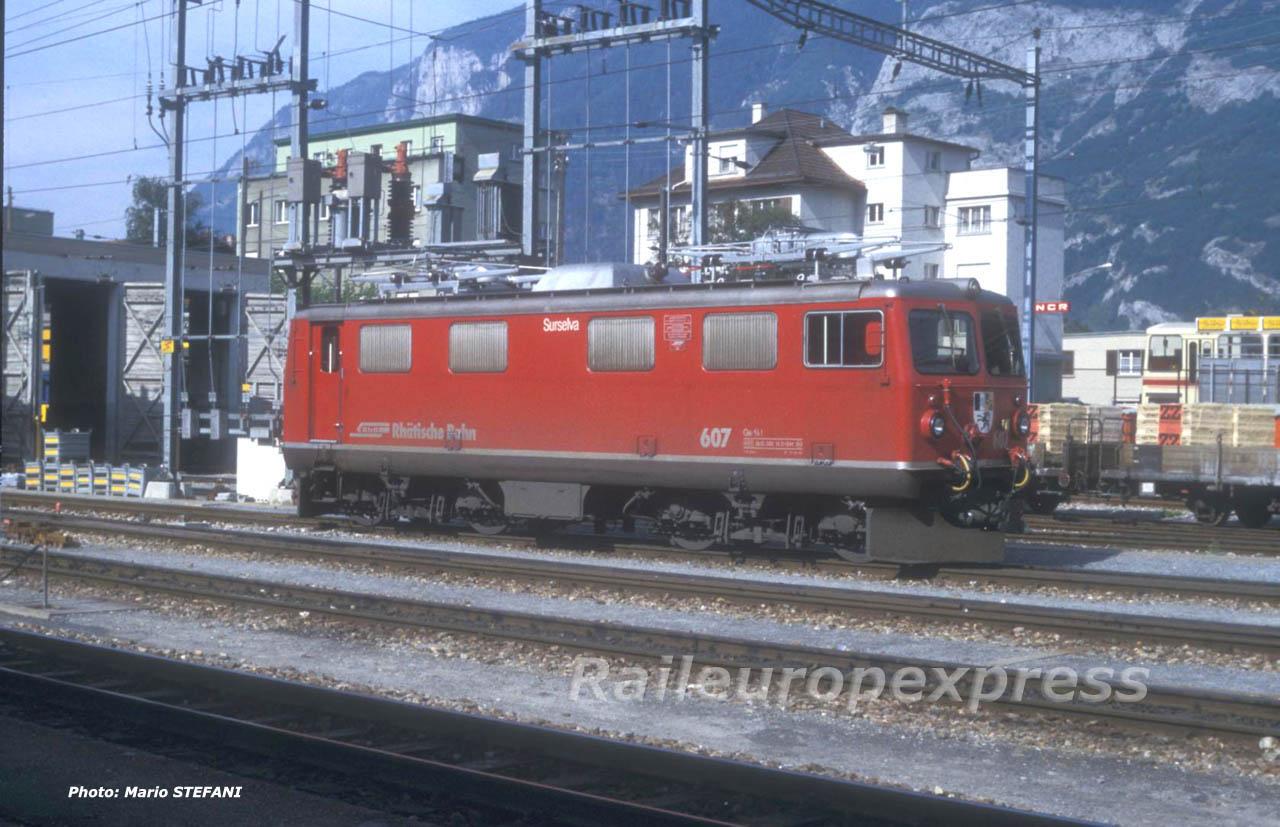 Ge 4/4 I 607 RhB à Chur