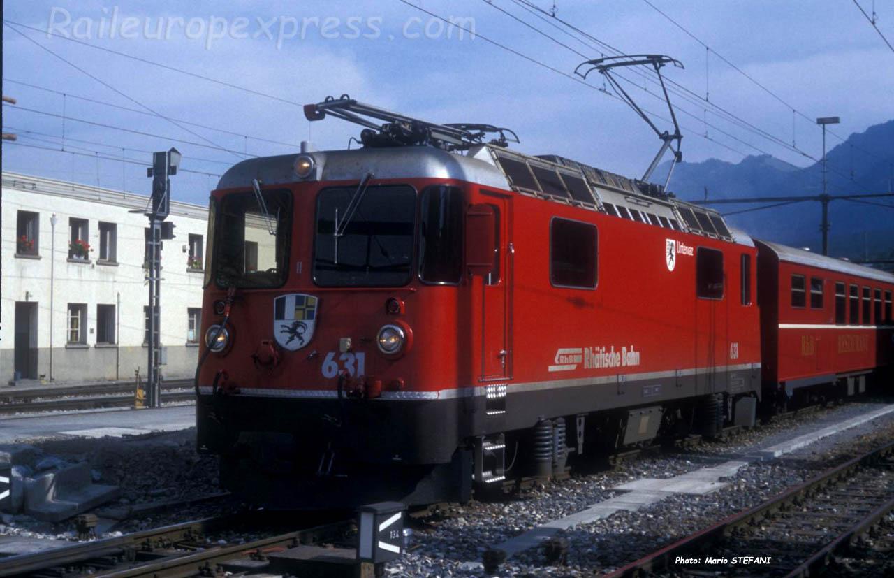 Ge 4/4 II 631 RhB à Chur (CH)